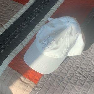 NY yankees dad hat